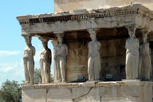 Der Erechtheion in Athen