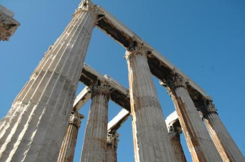 Olympiaion - Zeus Tempel