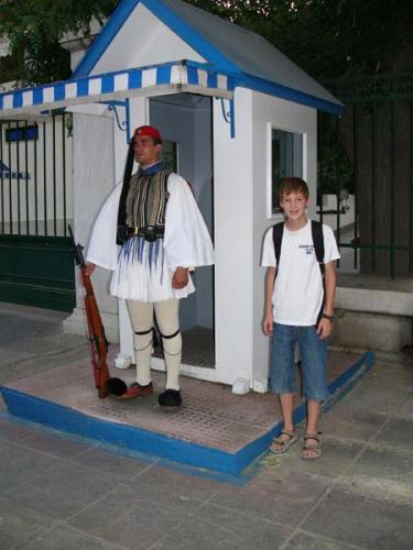 Athen - Wachablösung der Evzonen