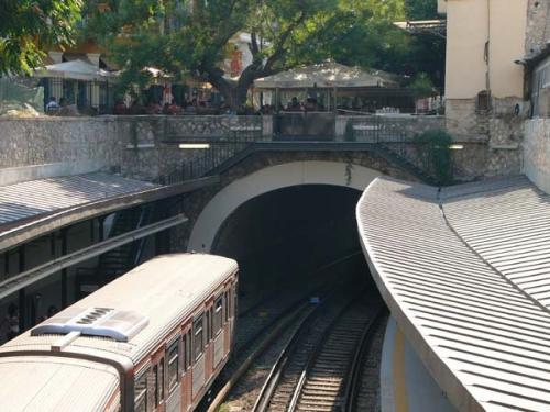 Athen - Monastiraki Metro Station