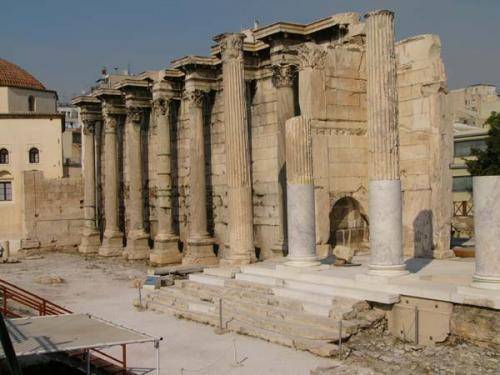 Athen - Auf dem Weg zur Akropolis
