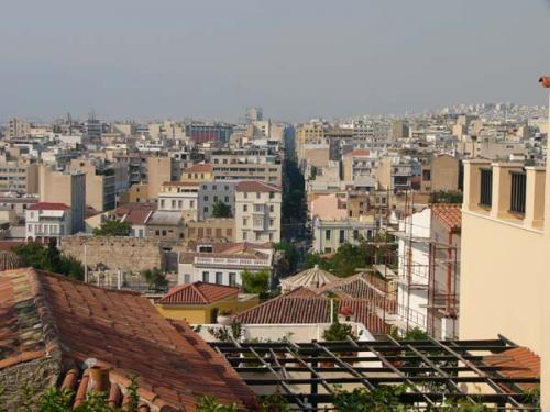 Athen - Blick über die Dächer