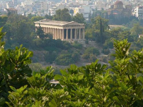 Ancient Agora Tempel