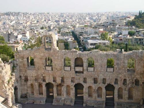 Athen - Theater des Dyonisos