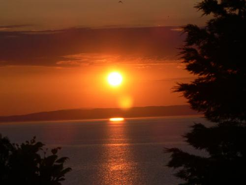 Sonnenuntergang bei Kallithea.