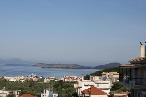 Blick über Igoumenitsa - vom Balkon, leicht rechts