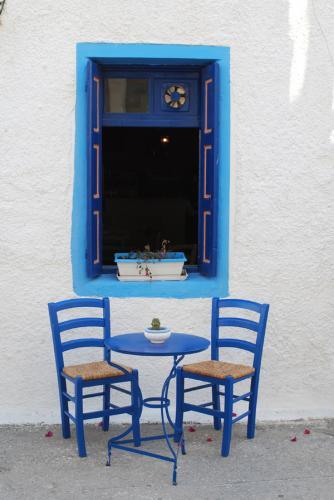 Typisch griechisches Cafe