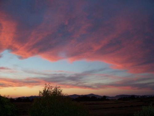 Sonnenuntergang auf Kos, so richtig kitschig - Ohne Nachbearbeitung des Fotos!