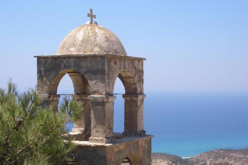 Verlassenes Kloster Agios Ioannis Thymianos südlich von Kefalos