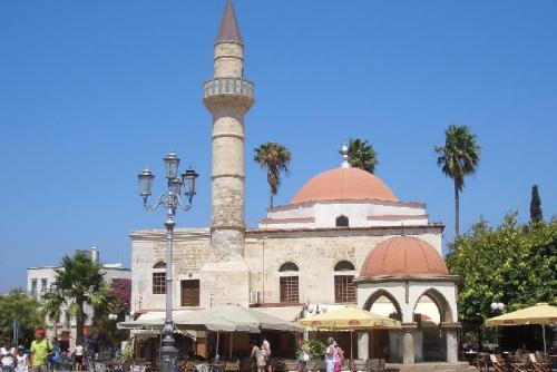 Minarett am Marktplatz von Kos