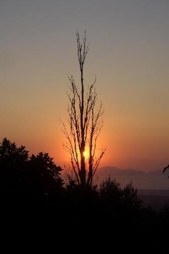 Sonnenuntergang in Zia. Ein Muss für alle Romantiker.