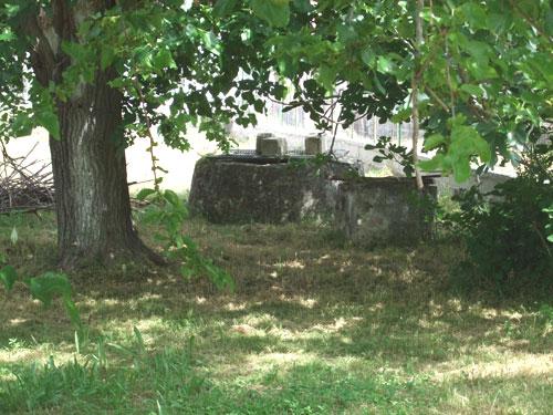 Alter Brunnen neben der Ruine