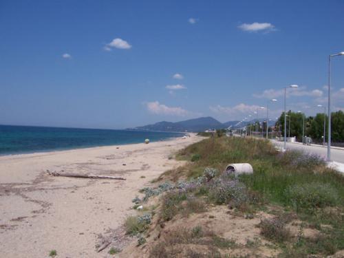 Der berühmte Strand von Kanali auf dm Epirus