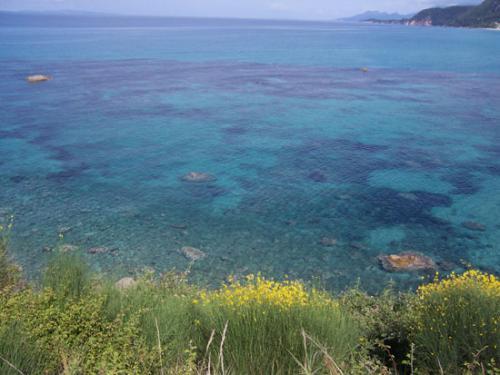 ...so blau, blau, blau ist das Meer...