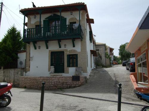 Liebevoll restauriertes Kaufmannshaus in Perdika