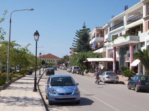 Straße in Preveza