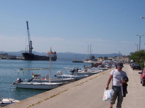 Der Hafen von Preveza