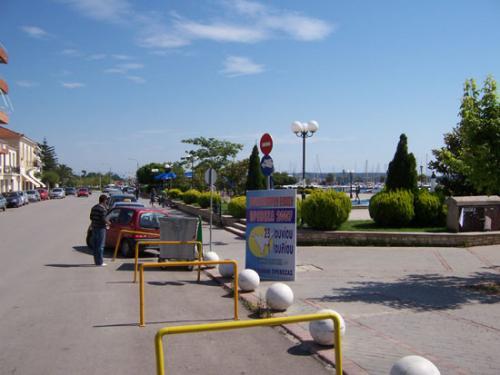 Hafenpromenade in Preveza