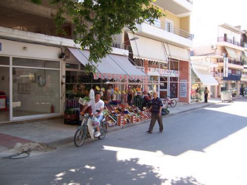 Einkaufen im alten Zentrum von Preveza