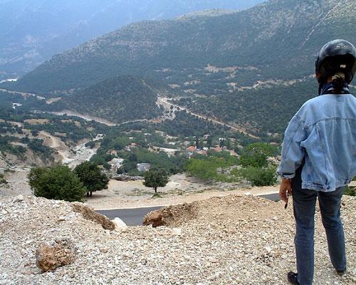 Berge hinter Parga