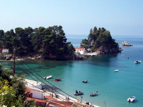 Der Hafen von Parga (Epirus)