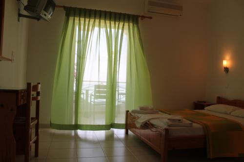 Ein Doppelzimmer des Aparthotel Haris