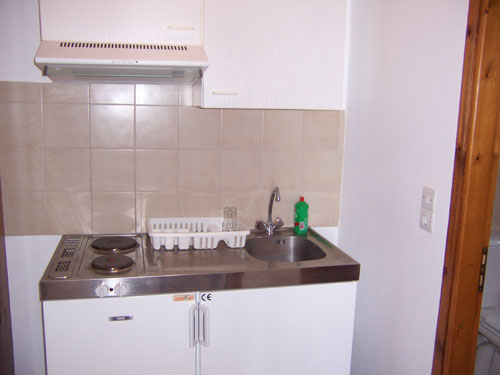 Küche in den Irini Studios