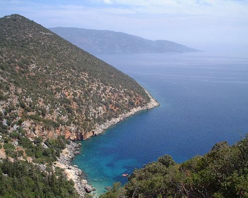 Bucht bei Sami auf Kefalonia