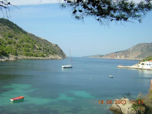 Eine der Buchten von Kefalonia