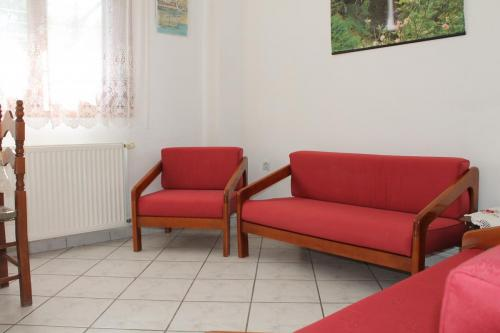 Apartment: Wohnzimmer