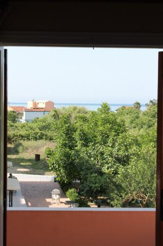 Blick aus einem der beiden oberen Apartments.