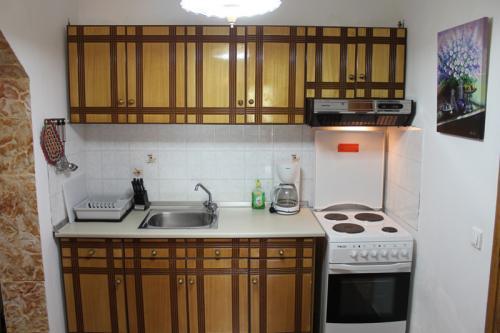 2-Zimmer-Apartment: Die Küche