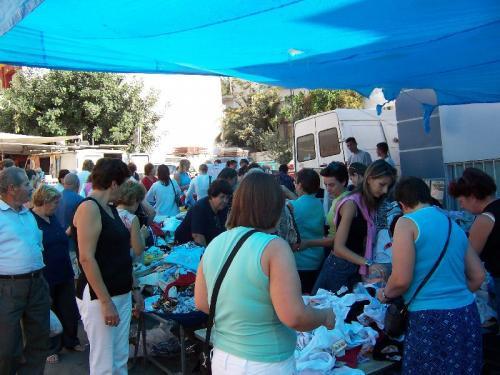 Markt in Agios Nikolaos.