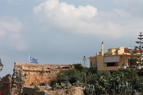 Der westliche Teil der Festung am Hafen.