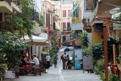 Durch die Gassen der Altstadt von Chania kann man stundenlang schlendern.