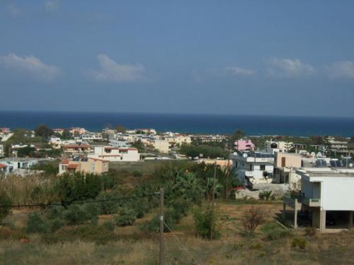 Überblick über Kavros, einem Teil der Gemeinde Georgioupolis.