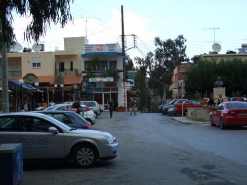 Das Zentrum von Georgioupolis.