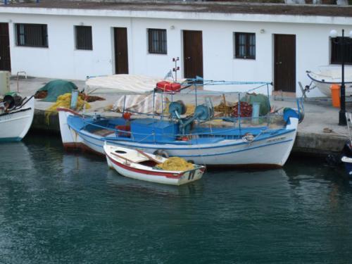 Der Fischerhafen von Georgioupolis.