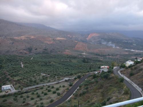 Hinterland von Georgioupolis Richtung Exopolis und Kalamatsi.