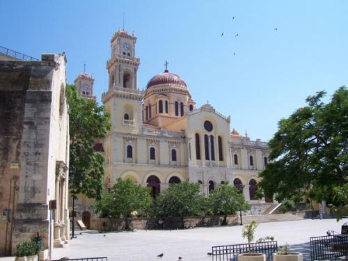 Die Altstadt von Heraklion.