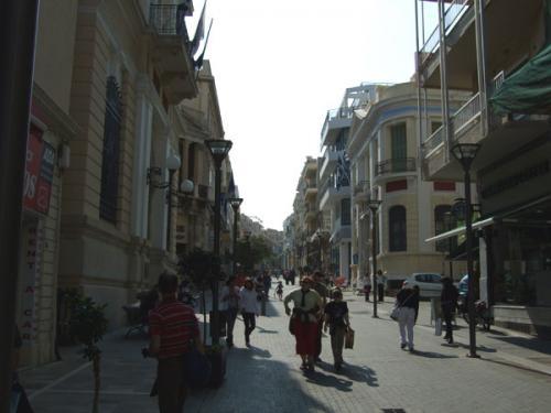 Flaniermeile am Hafen von Heraklion.