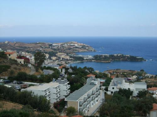 Anfahrt auf Agia Pelagia.