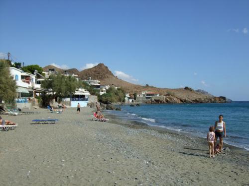 Der Strand von Lendas (auch Lentas geschrieben).