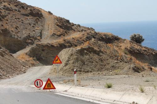 Baustelle auf Kreta