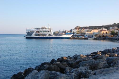 Hafen von Paleochora