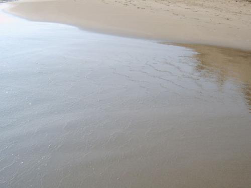 Der Strand von Frangokastello.