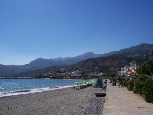 Der Strand von Plakias.