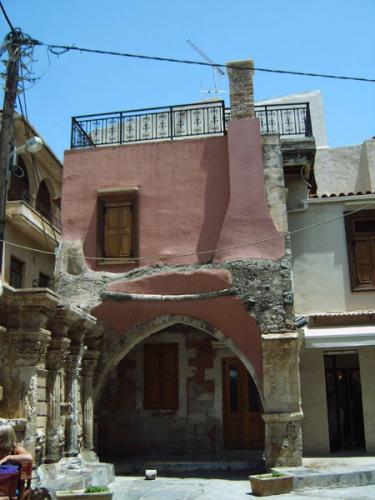Distrikt Rethymnon - Haus am venezianischen Brunnen.
