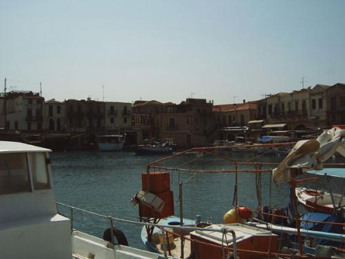 Distrikt Rethymnon - Der Hafen von Rethymnon.