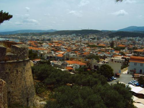 Distrikt Rethymnon - Die Festung über der Altstadt von Rethymnon.